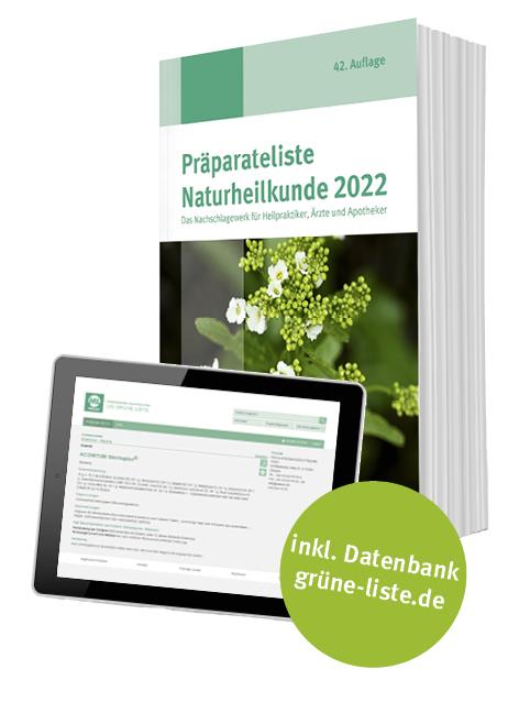 Präparateliste 2022 mit Onlinedatenbank